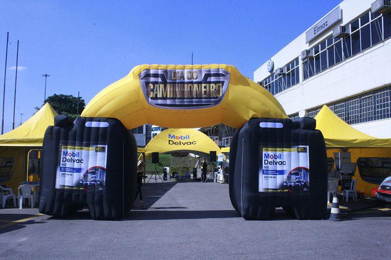 Balão inflável promocional