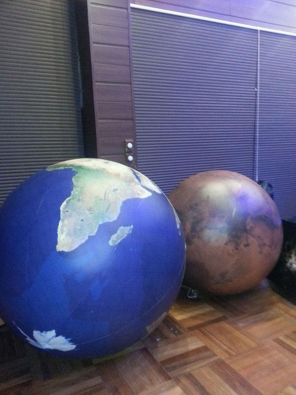Bolas gigantes para show