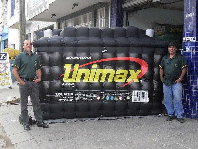 Réplicas infláveis