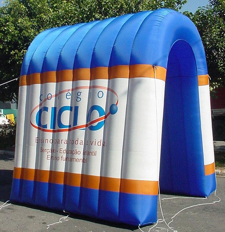 Túnel inflável preço