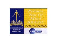 Prêmio Top of Mind Brazil 2005/2006
