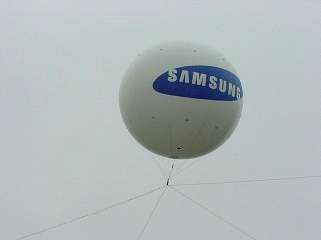 Balão aéreo blimp
