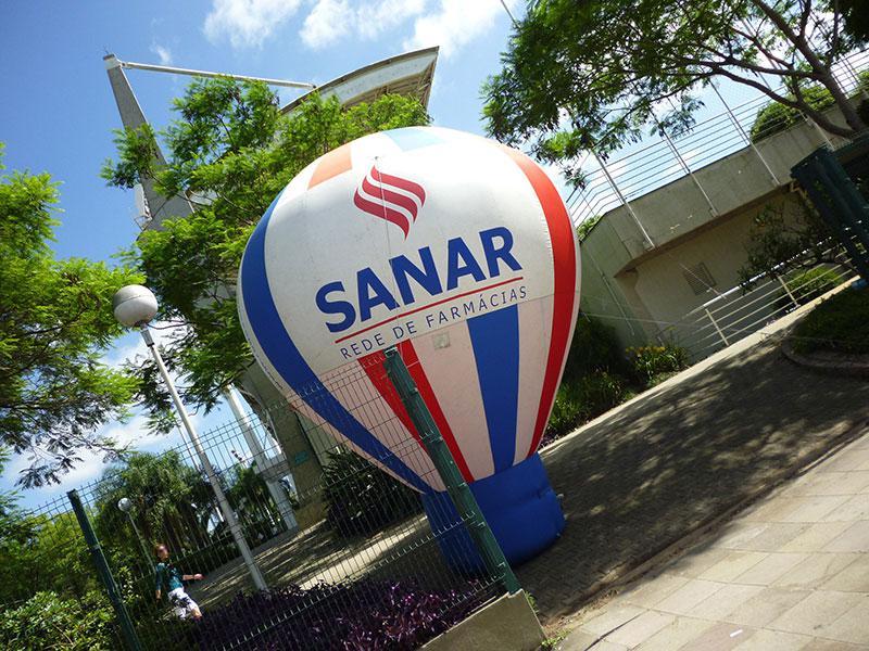 Balão blimp inflável