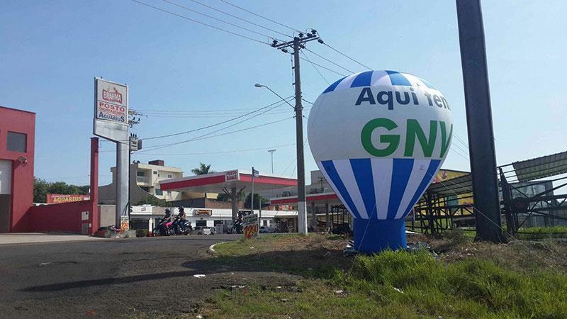 Balão promocional