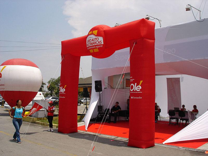 Balão publicitário preço