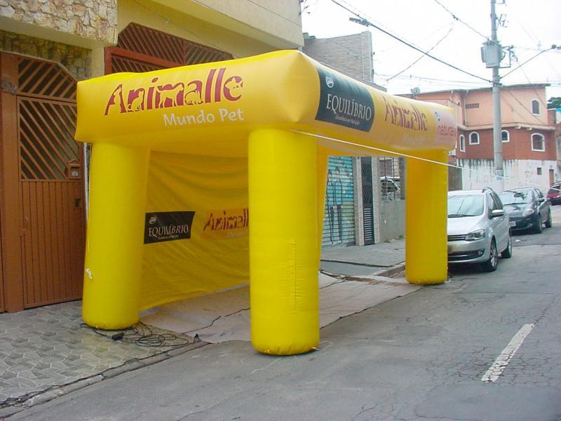 Barraca inflável preço