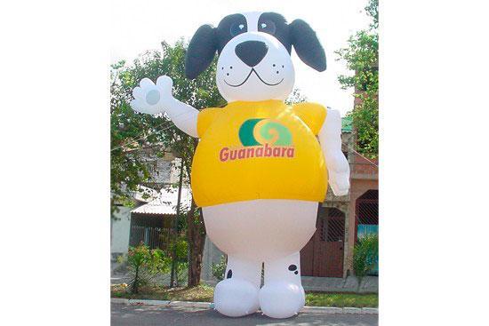 Boneco inflável promocional