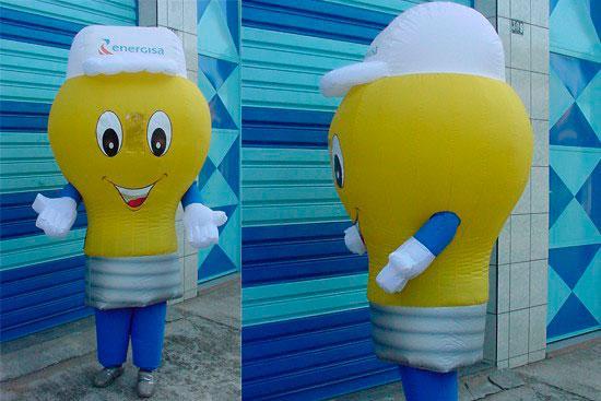 Fábrica de roupa infláveis