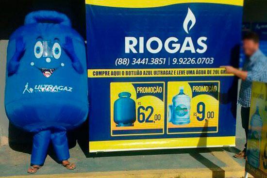 Inflável promocional preço