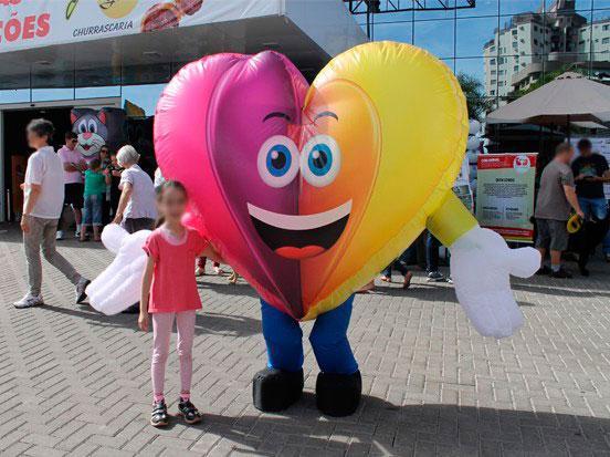 Onde comprar fantasia inflável