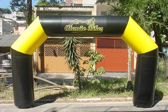 Pórtico inflável