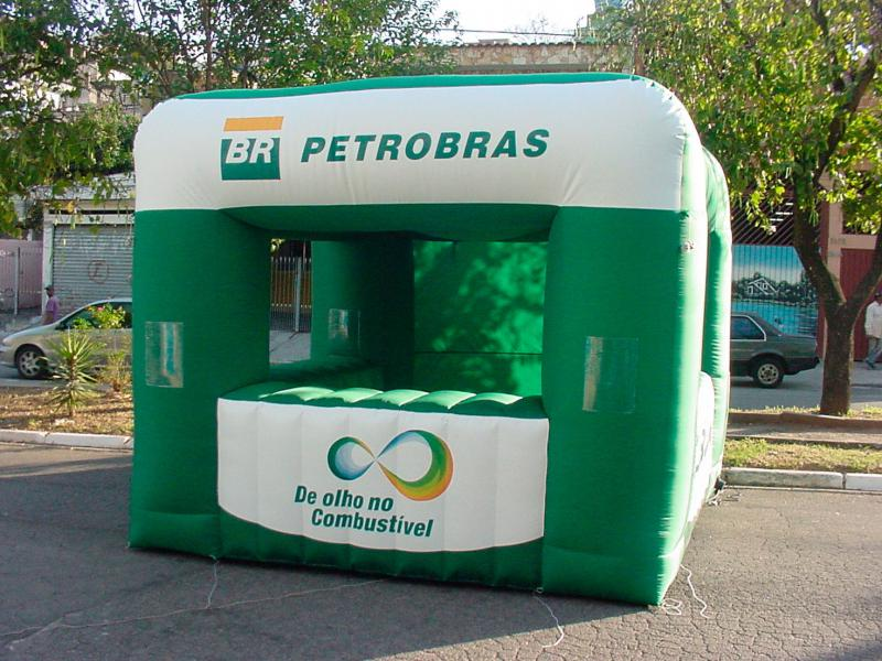 Stand inflável promocional