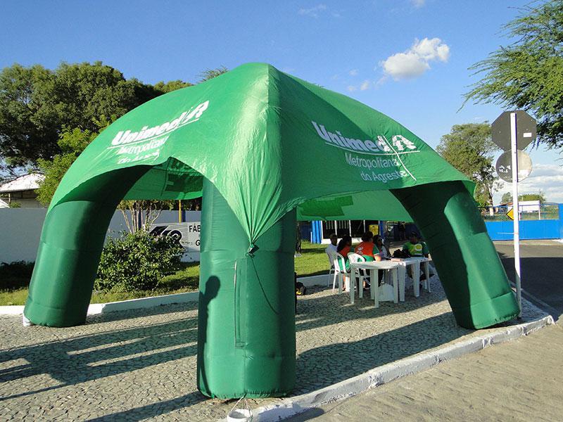 Stand tenda inflável