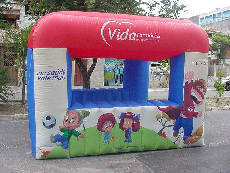 Tenda inflável preço