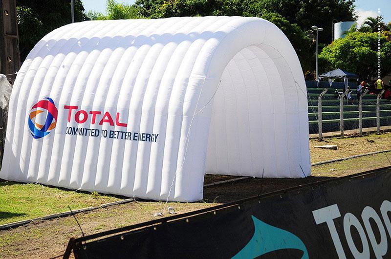 Túneis infláveis