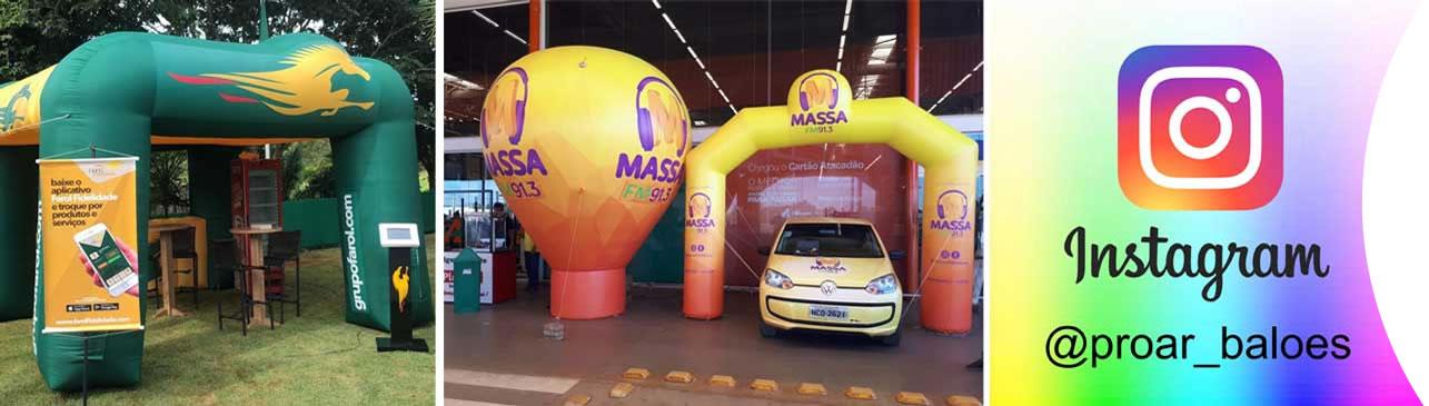 Empresa de Infláveis - Proar Balões Infláveis
