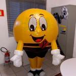 Fabricante de roupa inflável