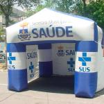 Tenda inflável para eventos